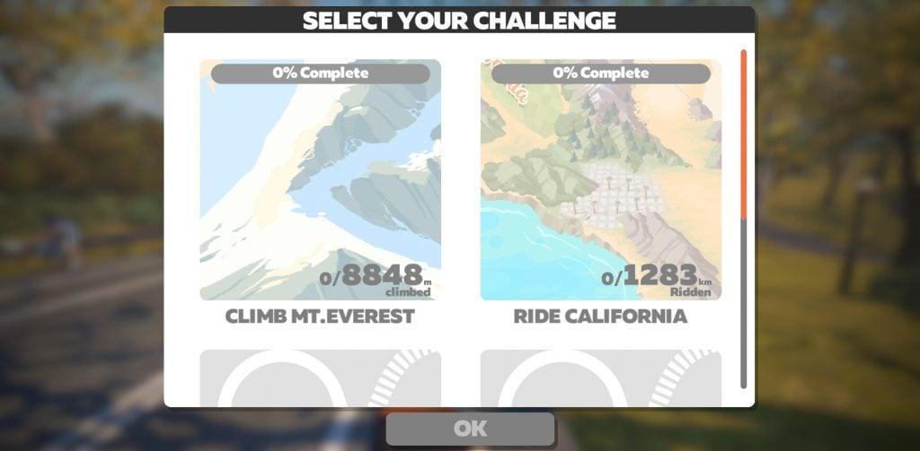 Zwift Challenge