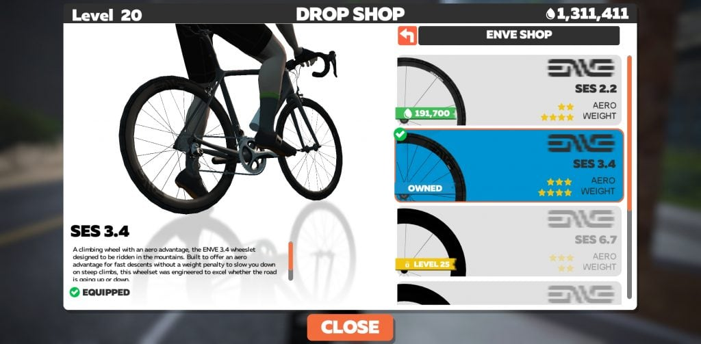 Drop Shop Zwift