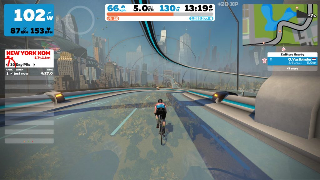 Zwift World Hack