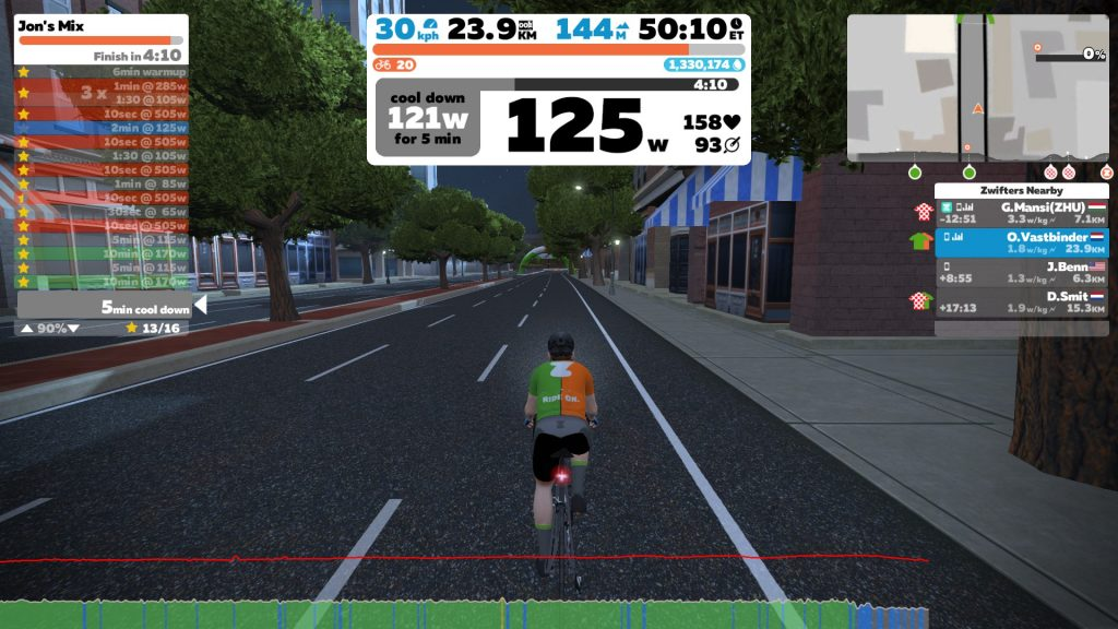 Zwift Workouts en Training Plans